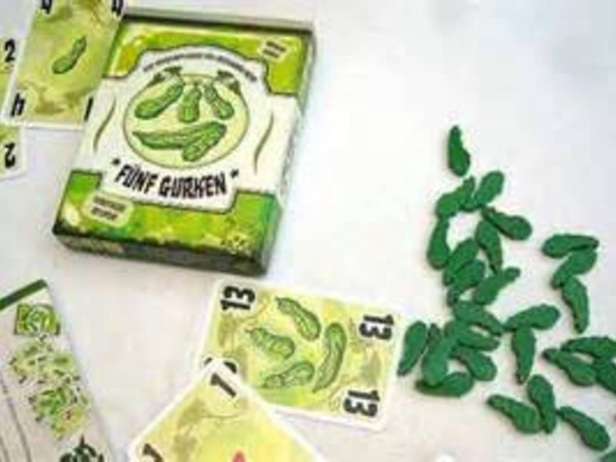 5本のきゅうり(Five Cucumbers)の画像 #4732 ボドゲーマ運営事務局さん