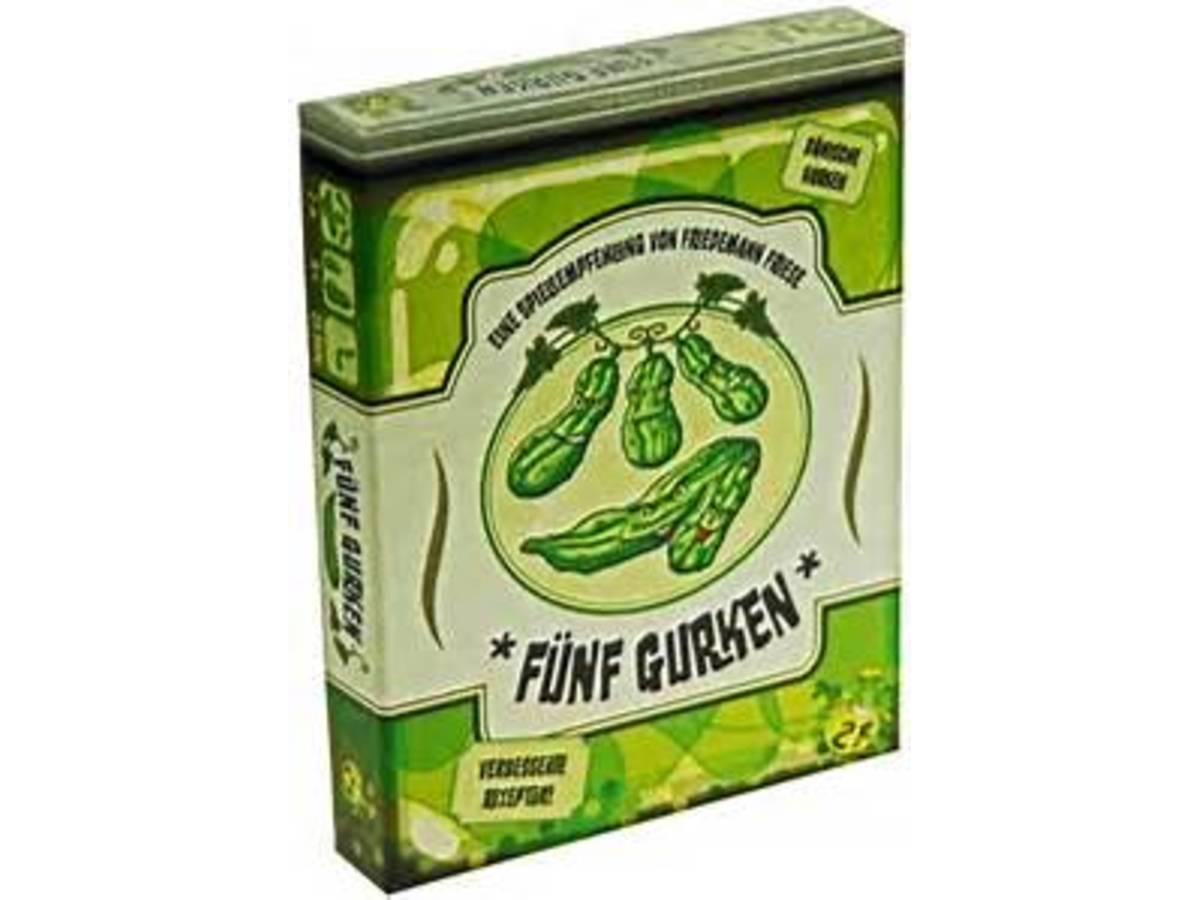 5本のきゅうり(Five Cucumbers)の画像 #10613 ボドゲーマ運営事務局さん