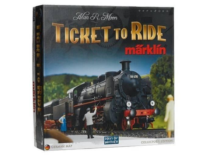 チケットトゥライド:メルクリン(Ticket to Ride: Maerklin)