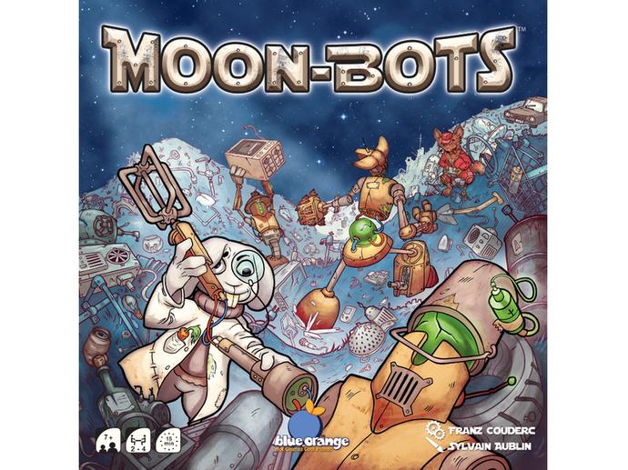 ポンコツロボット大乱闘(Moon-Bots)