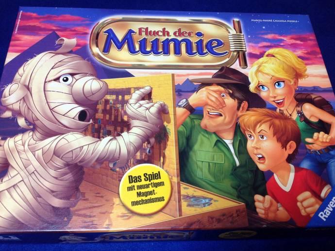 呪いのミイラ(Fluch der Mumie)
