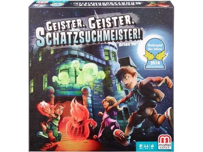 おばけ屋敷の宝石ハンター / 幽霊、幽霊、宝探し(Ghost Fightin' Treasure Hunters / Geister, Geister, Schatzsuchmeister!)