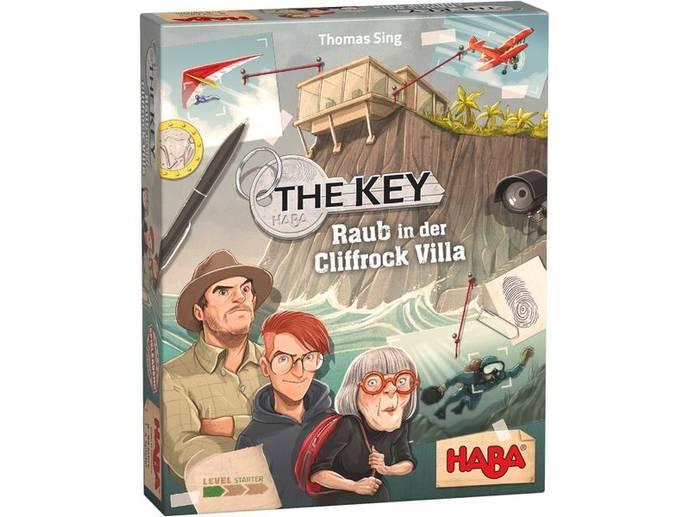 ザ・キー:岸壁荘の盗難事件(The Key: Raub in der Cliffrock Villa)