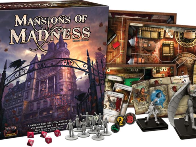 マンション・オブ・マッドネス:第2版(Mansions of Madness: Second Edition)