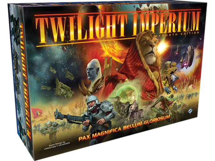 トワイライト・インペリウム:第4版(Twilight Imperium: Fourth Edition)