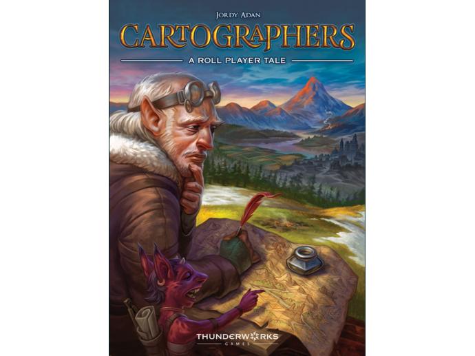 カートグラファーズ:ア・ロール・プレイヤー・テール(Cartographers: A Roll Player Tale)