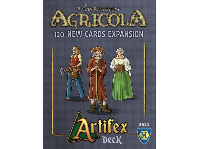 アグリコラ:アルティフェクスデッキ(Agricola: Artifex Deck)
