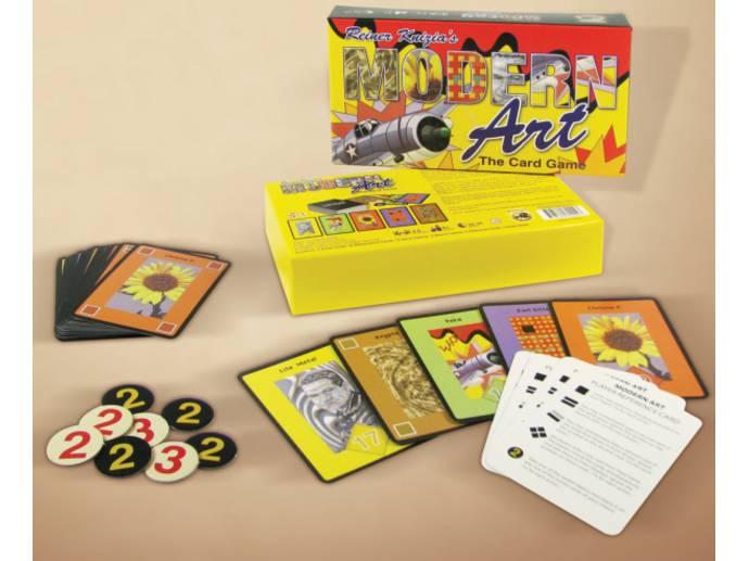 モダンアート:カードゲーム(Masters Gallery)