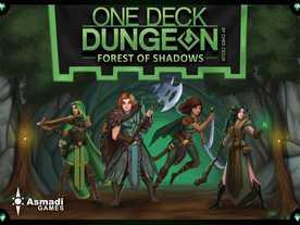 ワンデッキダンジョン:フォレストオブシャドウ(One Deck Dungeon: Forest of Shadows)
