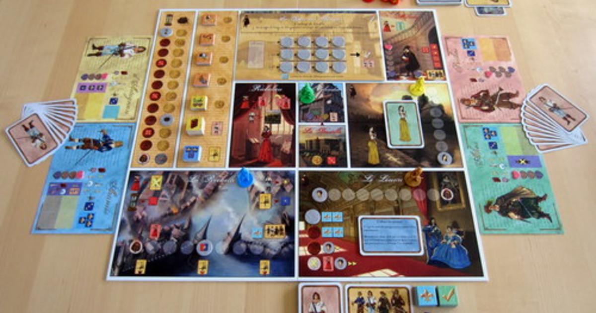 Spiele Mousquetaires Du Roy Game