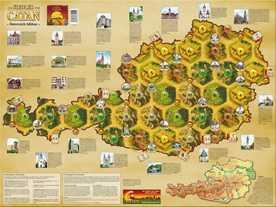 カタンの開拓者たち:オーストリアマップの画像