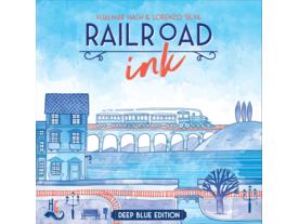 レイルロード・インク:ディープブルー・エディション(Railroad Ink: Deep Blue Edition)