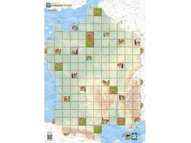 カルカソンヌ・マップ:フランスの画像