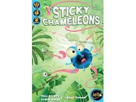 ひっつきカメレオン(Sticky Chameleons)
