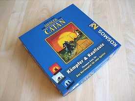 カタンの開拓者たち:カードゲーム 戦士と商人の画像