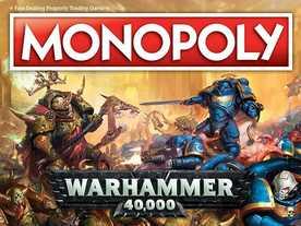 モノポリー:ウォーハンマー40,000の画像