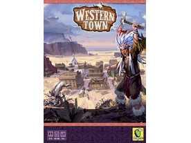 西部の街の画像