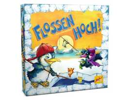ペンギンの魚釣りの画像