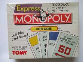 モノポリー:カードゲームの画像