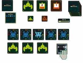 グリーンベーダーゲームの画像