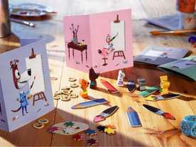 画家ネズミのクレックスの画像