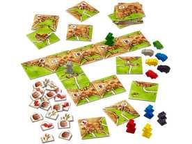 カルカソンヌ:商人と建築士(追加キット2)(Carcassonne: Expansion 2 – Traders & Builders / Haendler und Baumeister)