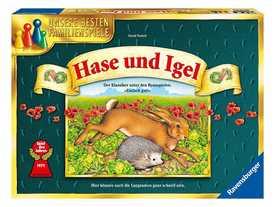 ウサギとハリネズミの画像