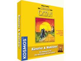 カタンの開拓者たち:カードゲーム 芸術家と慈善家の画像