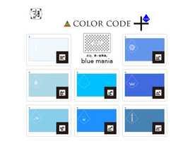 カラーコード:ブルーマニアの画像