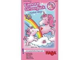 ビンゴゲーム 雲の上のユニコーン(Einhorn Glitzerglück: Funkel-Bingo)