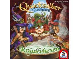クアックサルバー:薬草使いの魔女たち(拡張)(Die Quacksalber von Quedlinburg: Die Kräuterhexen)