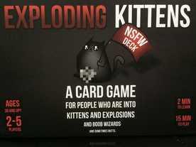こねこばくはつ:品性下劣版(Exploding Kittens: NSFW Deck)