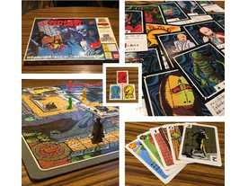 おばけ屋敷ゲームの画像