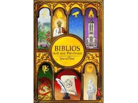 ビブリオス:羽ペンと羊皮紙の画像