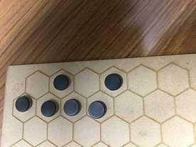 ハチの巣囲碁の画像