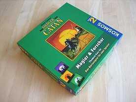 カタンの開拓者たち:カードゲーム 魔術師と研究者の画像