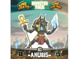 キング・オブ・トーキョー/ニューヨーク:モンスターパック アヌビス(拡張)(King of Tokyo/New York: Monster Pack – Anubis)