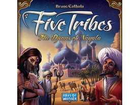 ファイブ・トライブス:ナカラの魔人(Five Tribes)