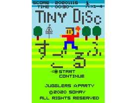 タイニーディスクスゴルフ(Tiny Disc Golf)