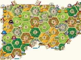 カタンの開拓者たち:インディアナ&オハイオマップの画像