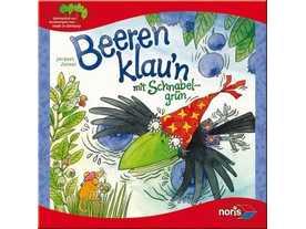 カラスとブルーベリー(Beeren klau'n mit Schnabelgrün)