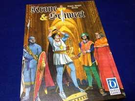 王冠と剣の画像