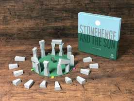 ストーンヘンジと太陽の画像