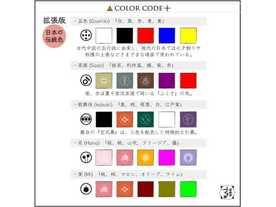 カラーコード拡張版の画像