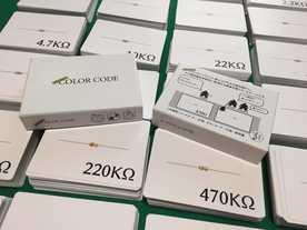 抵抗カラーコードかるた(Resistor Color Code)