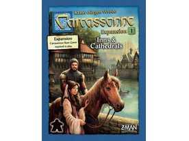 カルカソンヌ:宿舎と大聖堂(追加キット1) / 湖畔の宿と大聖堂 / 騎士と湖の画像