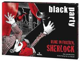 ブラックパーティ 安らかに眠れ、シャーロックの画像