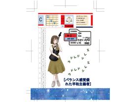 12星座のガールズギターリフダービー(Girls guitar riff derby by zodiac sign(12))