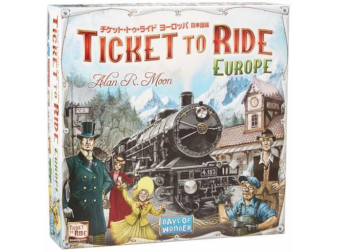 チケット・トゥ・ライド・ヨーロッパ