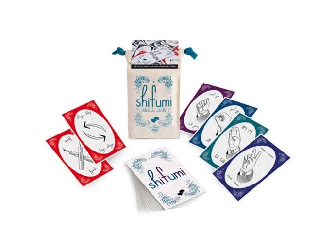 シフミ(フランス式ジャンケン・カードゲーム)